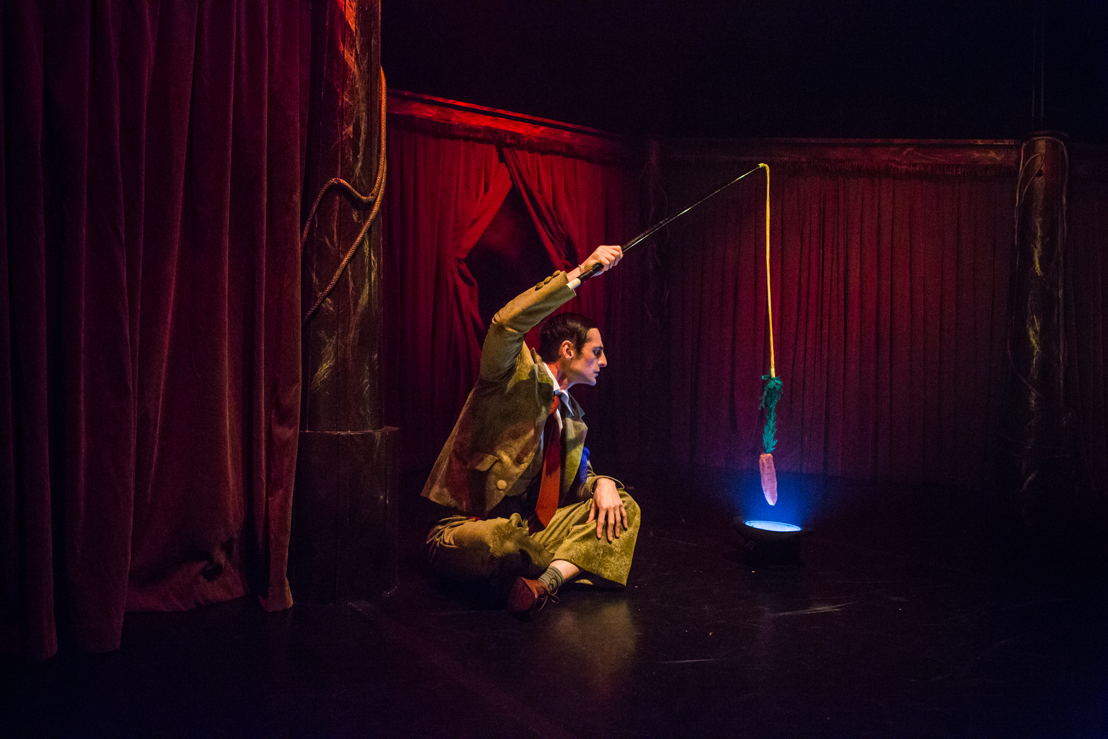 Milo's Hat Trick, Cahoots NI at The Lyric Theatre Photographer Melissa Gordon