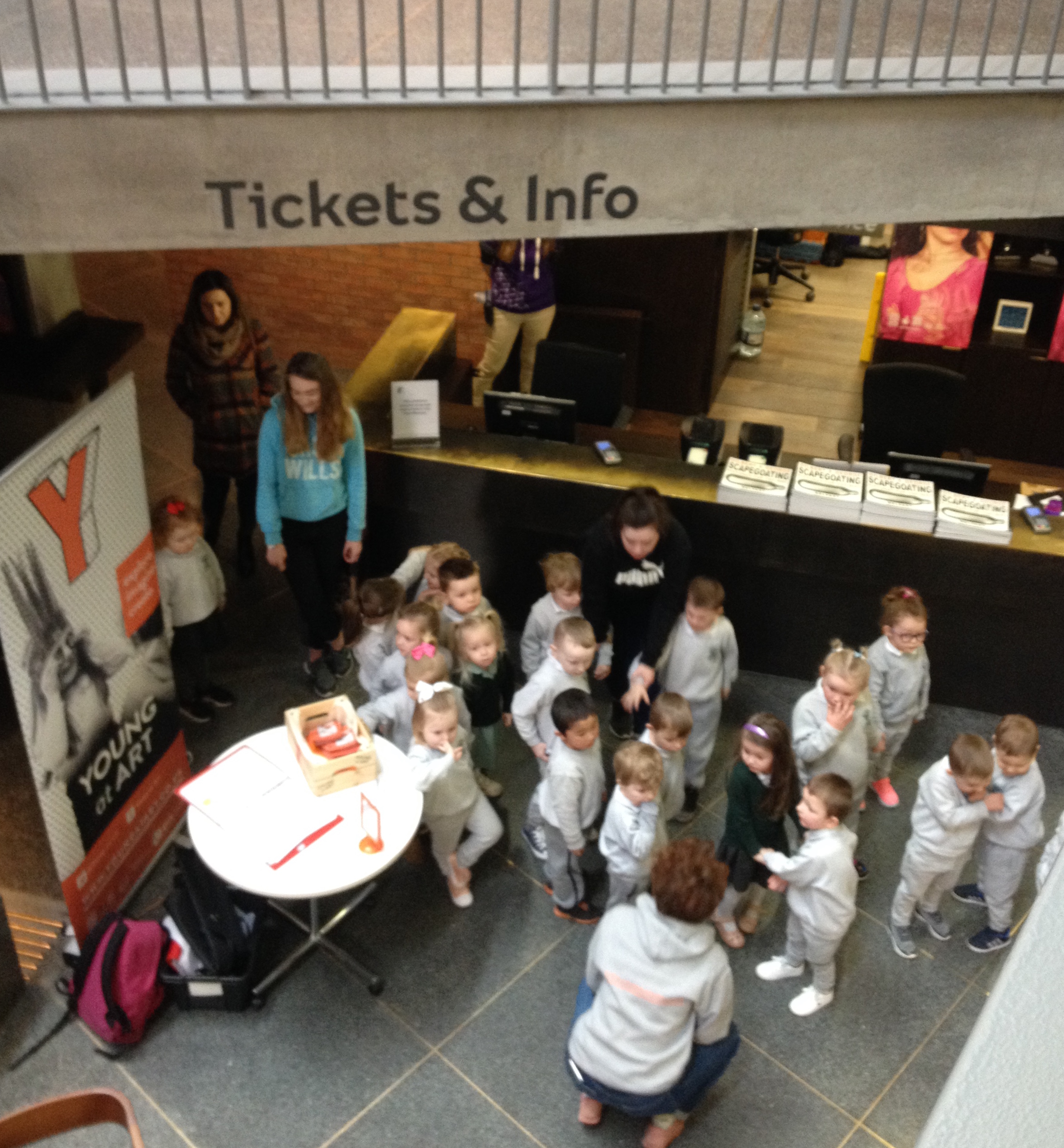 Nursery visit to the MAC as part of Belfast Children's Festival 2018