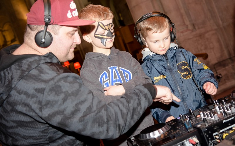 Bounce Culture DJ Workshop at Belfast Cathedral