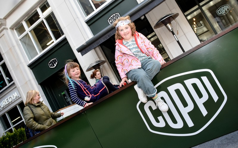 Availing of restaurant deals at Coppi, Cathedral Quarter