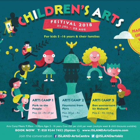 ISLAND Arts Centre Children's Arts Festival 2018