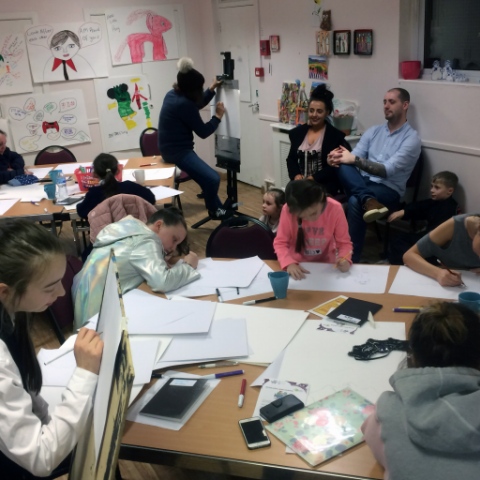Visual Arts and Families 2018 workshop 1