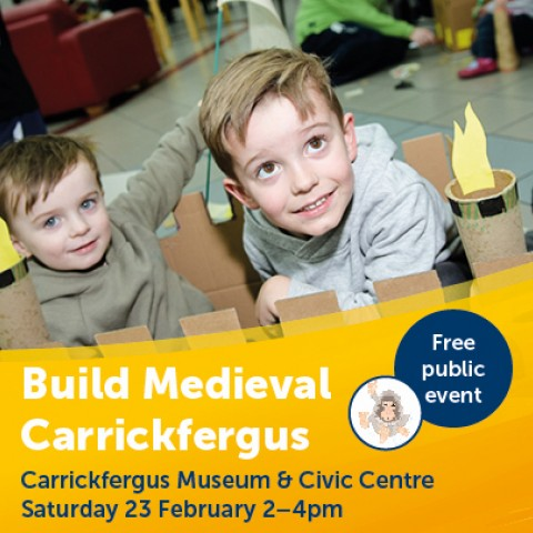 Build Medieval Carrickfergus