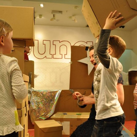 Building Castles with Cardboard