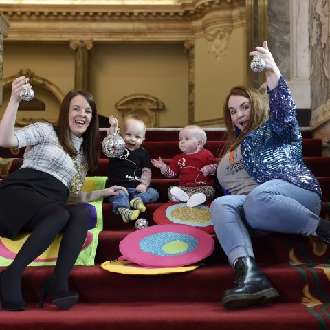Baby Rave at City Hall