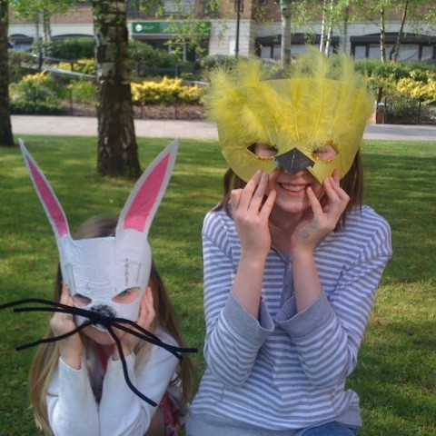 Easter themed masks