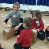 drama facilitator with children