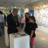 IACCAF18 Art Camp 1 Mayor visit
