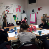 Visual Arts and Families 2018 workshop 2