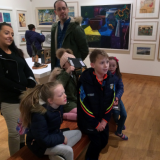 Visual Arts and Families 2018 outing Ulster Museum